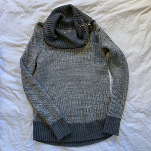 Banana Republic Grey Cowl Neck Sweater